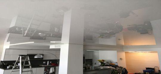DIY stretch ceiling canvas fabric membrane flat