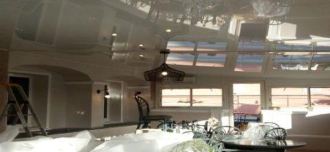 Waco Texas DIY stretch ceiling canvas fabric membrane amazing finish