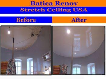 Minnesota acoustic film fabric stretch ceiling membrane
