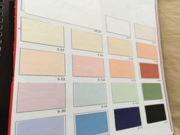 Satin color stretch ceiling USA