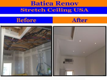 Massachusetts stretch ceiling near me popcorn solution stretch ceiling