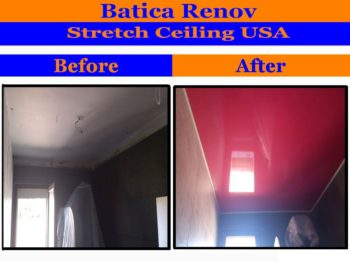 Montana stretch ceiling by Batica-Renov USA